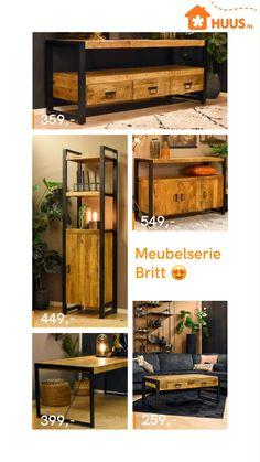 Iron Furniture, Industrial Furniture, Salon Interior Design, Interior And Exterior, Home Crafts, Diy Home Decor, Coffee Bar Home, Modern Farmhouse Decor, House Made