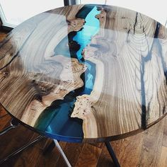 Meubelkorting Tampa Product-ID: 7352157569 – Epoxidharz – Welcome The Epoxy Diy Resin Table, Epoxy Wood Table, Epoxy Resin Table, Diy Epoxy, Resin Furniture, Loft Furniture, Furniture Outlet, Furniture Design, Discount Furniture