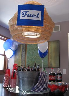 car themed party ideas for car lovers and automotive fiends Party