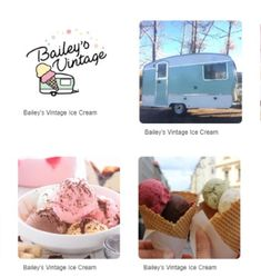 Welcome to Bailey's Vintage Ice Cream Fish Creek Park, Vintage Ice Cream, Baileys, Bubble Gum, Dairy Free, Community, Treats, Chocolate, Shop