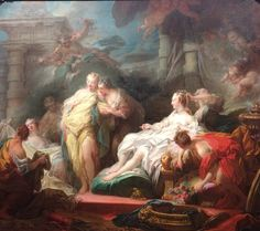 Jean Fragonard, Psyche Showing Her Sisters Her Gifts (1753)