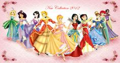 New collection: Princess Disney by *Sonala on deviantART