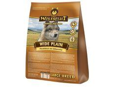 Wide Plain Large Breed von Wolfsblut ist ein artgerechtes Trockenfutter für Hunde. Dessen  speziell auf die Bedürfnisse von großen Hunden abgestimmte Zusammensetzung macht es zu einer täglich gesunden Hundenahrung. Der Stoffwechsel großer Hunde ist  in der Regel langsamer als bei kleinen Hunden. Sie sollten daher viel bewegt und möglichst fett- und kalorienarm ernährt  werden, sonst kommt es schnell zu Übergewicht.