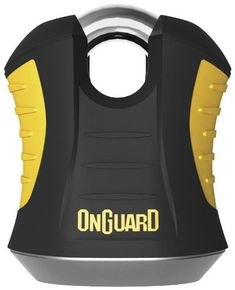 OnGuard BEAST Padlock. *X2P Double Bolt Locking Mechanism**Z-CYL Technology* Bicycle Lock, Drill, Beast, It Is Finished, Technology, Paint, Products, Tech, Hole Punch