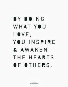 Doe wat je van houdt