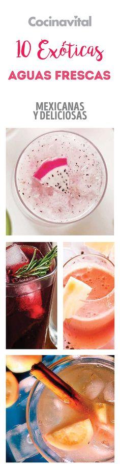 Para darle un toque refrescante a tus comidas, estas aguas pueden realzar el sabor de tus platillos