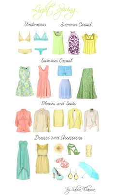"""""""Light spring light colors"""" by sabira-amira ❤ liked on Polyvore"""
