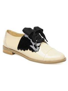 chaussures bicolore de f-troupe