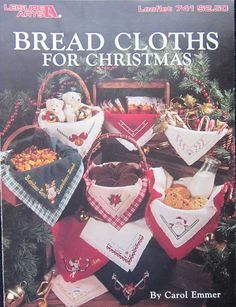 Bread Cloths for Christmas by Carol Emmer by TheHowlingHag on Etsy, $5.95