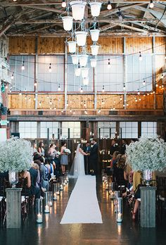 Brides.com: . Herban Feast's Sodo Park in Seattle, Washington. Industrial accents and soaring beamed ceilings make this 100-year-old repurposed factory a must for cool-girl Seattle brides; Herban Feast's Sodo Park.