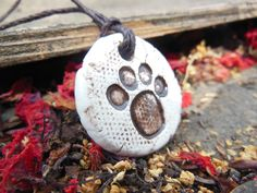 Dog or Cat Paw Print Essential Oil Necklace, Round EO Diffuser Pendant Children's Aromatherapy Jewelry for Boys and Girls Gift for Pet Lover by ThisOnesMineDesigns on Etsy https://www.etsy.com/listing/210534614/dog-or-cat-paw-print-essential-oil