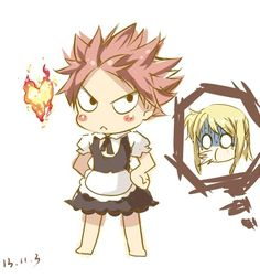Natsu and Lucy from Fairy tail <3