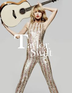 kissesoncheekss:  Taylor Swift on the cover of ELLE Magazine