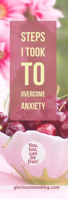 Steps I took to overcome anxiety: read my story of how I changed from being constantly overwhelmed to having peace and taking motherhood in stride. Check it out at gloriousmomblog.com.