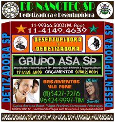 NANOTEC Dedetizadora 11 96424-9997-What's App Orç.-3427-2276-What's App…