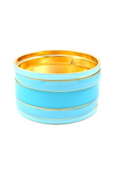 Stacked Greek Blue Bangle Set | Awesome Selection of Chic Fashion Jewelry | Emma Stine Limited