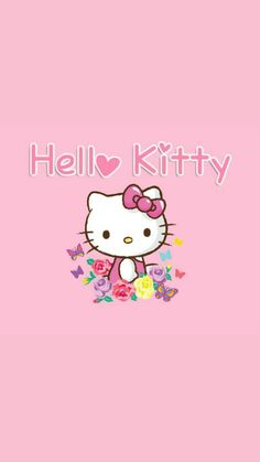 Sanrio Wallpaper, Hello Kitty Wallpaper, Kawaii Wallpaper, Hello Kitty Art, Hello Kitty Pictures, Cellphone Wallpaper, Iphone Wallpaper, Sanrio Hello Kitty, Wallpaper Backgrounds