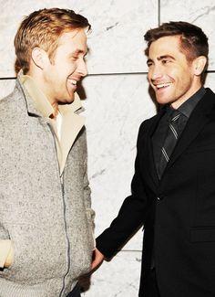 Ryan Gosling & Jake Gyllenhaal