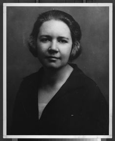 Rose Wilder Lane was the only surviving child of Laura and Almanzo. She grew up to become a prolific writer like her mother.    [The State Historical Society of Missouri, Photograph Collection (01261)]