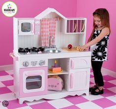 bol.com   KidKraft Moderne Country Houten Keukentje,KidKraft   Speelgoed