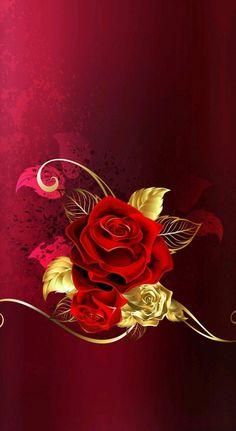 Cellphone wallpaper wallpaper for your phone iphone wallpaper rose wallpape Qhd Wallpaper, Bling Wallpaper, Flower Wallpaper, Wallpaper Backgrounds, Wallpaper Telephone, Cellphone Wallpaper, Iphone Wallpaper, 3d Rose, Rose Art