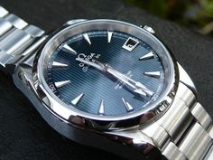 Omega Aqua Terra Skyfall close-up