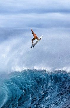 Get up there! #sweet #beach #surf