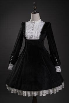 Larmes d'Anges -Nameless Maiden- Vintage Classic Lolita OP Dress