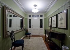 Image result for victorian wall panelling, cornice, skirting board illustration