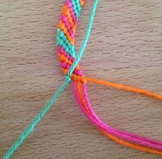 tuto bracelet bresilien facile
