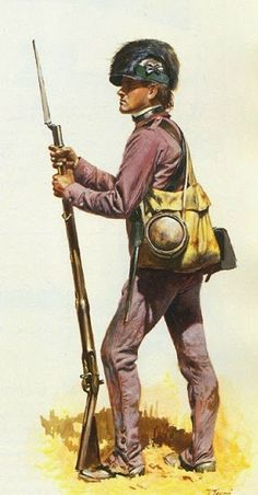 The Partisan Corps or Lee's Legion was a crack mixed cavalry and light infantry unit of the Continental army. It was commanded by He. American Revolutionary War, American War, Early American, American History, Independence War, American Independence, Military Art, Military History, Military Uniforms