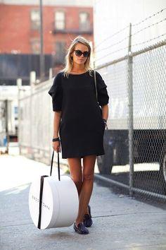 Carlotta Oddi Style Inspiration - little black dress
