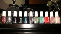 my personal ESSIE collection....