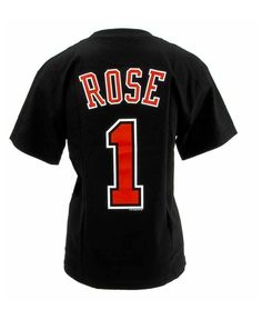 derrick rose jersey and shorts