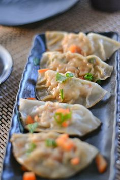 Pot stickers can be found when eating at a Chinese restaurant. This chicken pot sticker recipe consists of ground chicken meat and a mixture of vegetables.