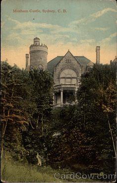 Moxham Castle Sydney Canada Nova Scotia