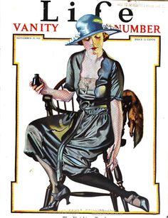 "Life magazine, the ""vanity number."" Vol. 78, 1921."