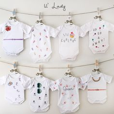 52 Best Baby Shower Onesie Decorating Kit Images Babies Clothes