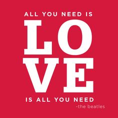 All you need is love Beatles Wallpaper designcorral.com