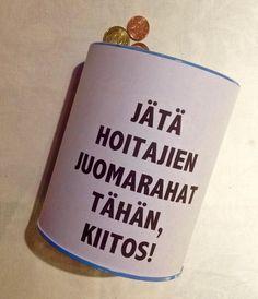 Ei kai muutama lantti läheisen hengissä pitämisestä ole kenellekään iso asia? http://janholmberg.weebly.com/lue-mainio-blogia/juomarahaa-sairaanhoitajille #sairaanhoitajat #juomaraha #hallitus #säästöt #talous #raha