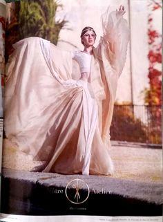 La belleza más pura radica en la originalidad #novias #casamiento #ceremonia #fiesta #vestidos #vestidosdenovia #NotreAtelier #Altacostura