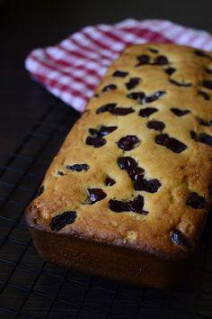 Połakom się!: Łatwe ciasto z mąki kokosowej z żurawiną (bez nabiału, bez rafinowanego cukru, bezglutenowe)