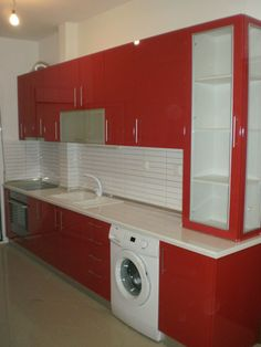 Spiti Experts Ανακαίνιση κουζίνας  Δούρας Αθανάσιος Laundry, Home Appliances, Laundry Room, House Appliances, Laundry Service, Domestic Appliances, Wax