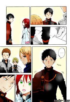 """Akagami no Shirayuki hime """" Snow White with the red hair """" Manga ^^"""