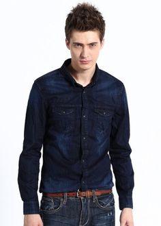 Camisa Denin Deep Blue - Índigo