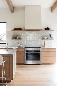 Home Decor Kitchen, Interior Design Kitchen, New Kitchen, Home Kitchens, Interior Modern, Kitchen Post, Kitchen Photos, Home Interior, Layout Design