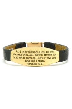 Scripture Bracelet- Jeremiah 29:11
