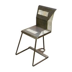 Kevin Busta Steel dining chair