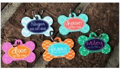 Personalized Pet Dog Tags!