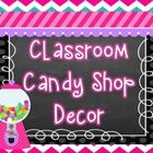 This 170 page candy themed product was developed to provide the user with a classroom starter pack. The elements in the package are meant to meet t...
